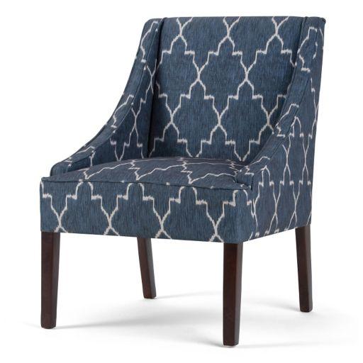 Simpli Home Hayworth Moroccan Accent Chair