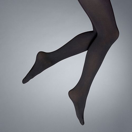 Simply Vera Vera Wang Opaque Control-Top Tights