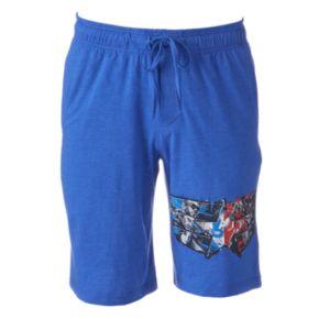 Men's Marvel Civil War Jams Shorts