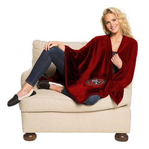 San Francisco 49ers Silk-Touch Throw Blanket by Northwest
