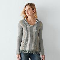 Women's SONOMA Goods for Life™ Striped Boho Sweater
