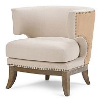 Simpli Home Hoffman Accent Chair