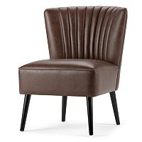 Simpli Home Hollyford Club Accent Chair