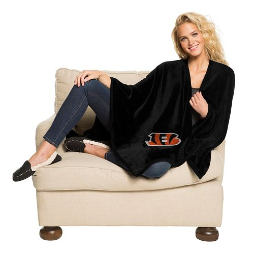 Cincinnati Bengals Silk-Touch Throw Blanket by Northwest