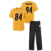 Boys 8-20 Pittsburgh Steelers 2-Piece Pajama Set