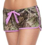 Juniors' Realtree Camouflage Cover-Up Shorts