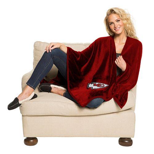 Kansas City Chiefs Silk-Touch Throw Blanket by Northwest