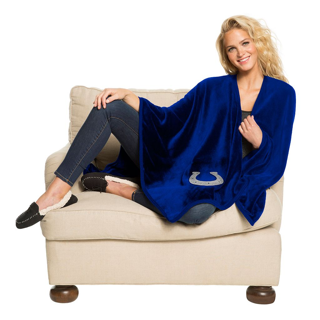 Indianapolis Colts Silk-Touch Throw Blanket by Northwest