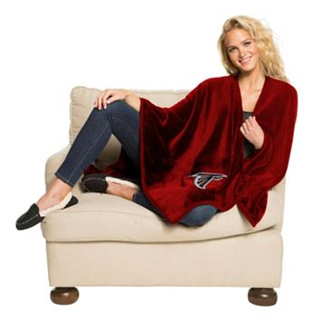 Atlanta Falcons Silk-Touch Throw Blanket by Northwest