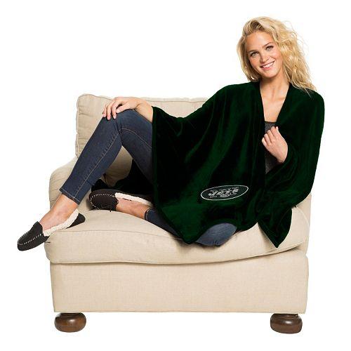 New York Jets Silk-Touch Throw Blanket by Northwest
