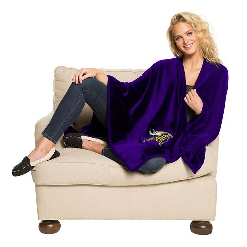 Minnesota Vikings Silk-Touch Throw Blanket by Northwest