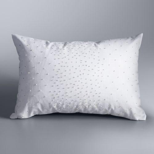Simply Vera Vera Wang Atmosphere Embellished Throw Pillow