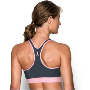 Under Armour Bras: Power in Pink Armour Mid Sports Bra 1281915