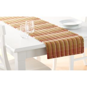 Food Network? Rust Chindi Table Runner - 72""