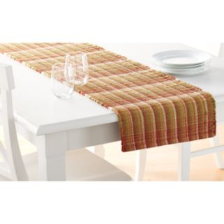 "Food Network™ Rust Chindi Table Runner - 72"""