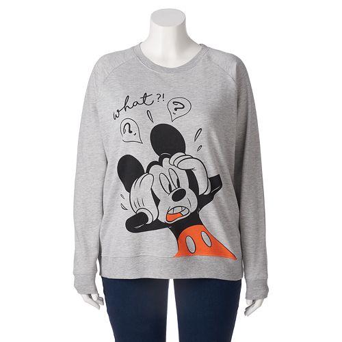 d802b857484 Disney s Juniors  Plus Size Mickey Mouse