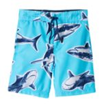 Boys 4-7 Carter's Shark Swim Trunks