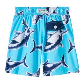 Boys 4-7 Carter's Shark Swim Trunks