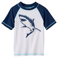 Boys 4-7 Carter's Shark Graphic Rashguard