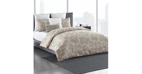 Simply Vera Vera Wang 3 Piece Floral Impression Comforter Set