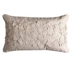 Simply Vera Vera Wang Center Floral Throw Pillow