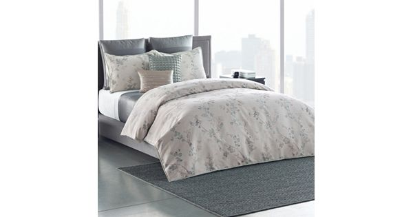 Simply Vera Vera Wang 3 Piece Floral Shadow Duvet Cover Set