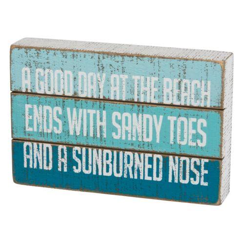 """Good Day at the Beach"" Wall Decor"