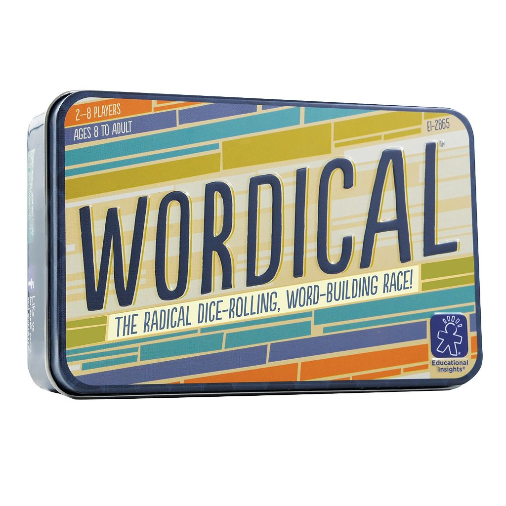 Wordical Game by Educational Insights