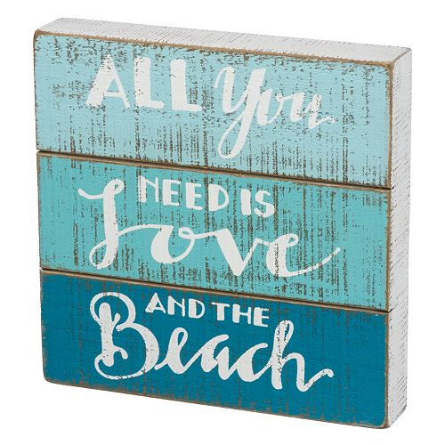 """""""All You Need is Love"""" Wall Decor"""