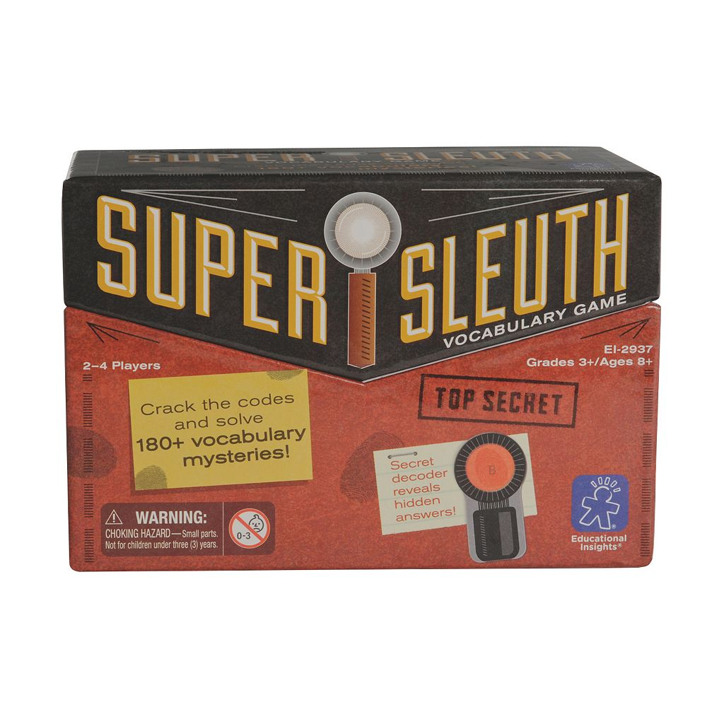 Super Sleuth Vocabulary Game by Educational Insights