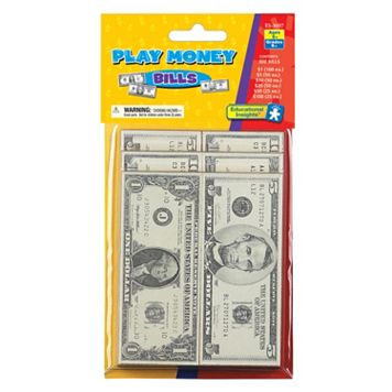Educational Insights Play Money Bills