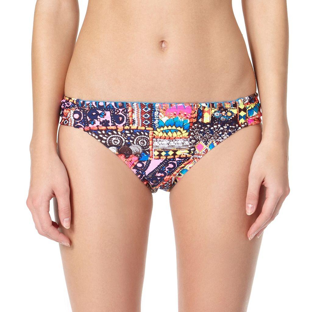 Juniors' In Mocean Belize Scoop Bikini Bottoms