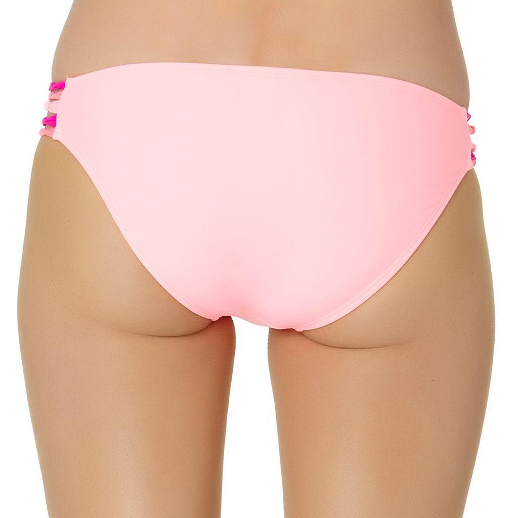 In Mocean Mystic Coral Bikini Bottoms