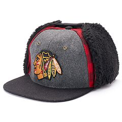 Adult Zephyr Chicago Blackhawks Forester Adjustable Trapper Cap