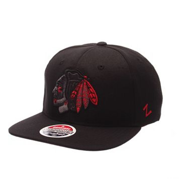 Adult Zephyr Chicago Blackhawks Twilight Snapback Cap