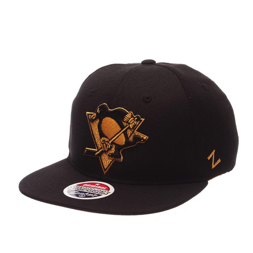 Adult Zephyr Pittsburgh Penguins Twilight Snapback Cap