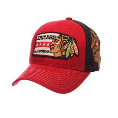 Adult Zephyr Chicago Blackhawks Interstate Snapback Cap