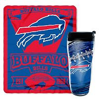 Buffalo Bills Mug N' Snug Throw & Tumbler Set by Northwest