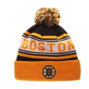 Adult Zephyr Boston Bruins Finish Line Beanie