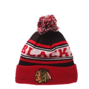 Adult Zephyr Chicago Blackhawks Finish Line Beanie