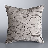 Simply Vera Vera Wang Ripple Throw Pillow