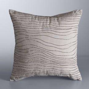 Simply Vera Vera Wang Ripple Throw Pillow