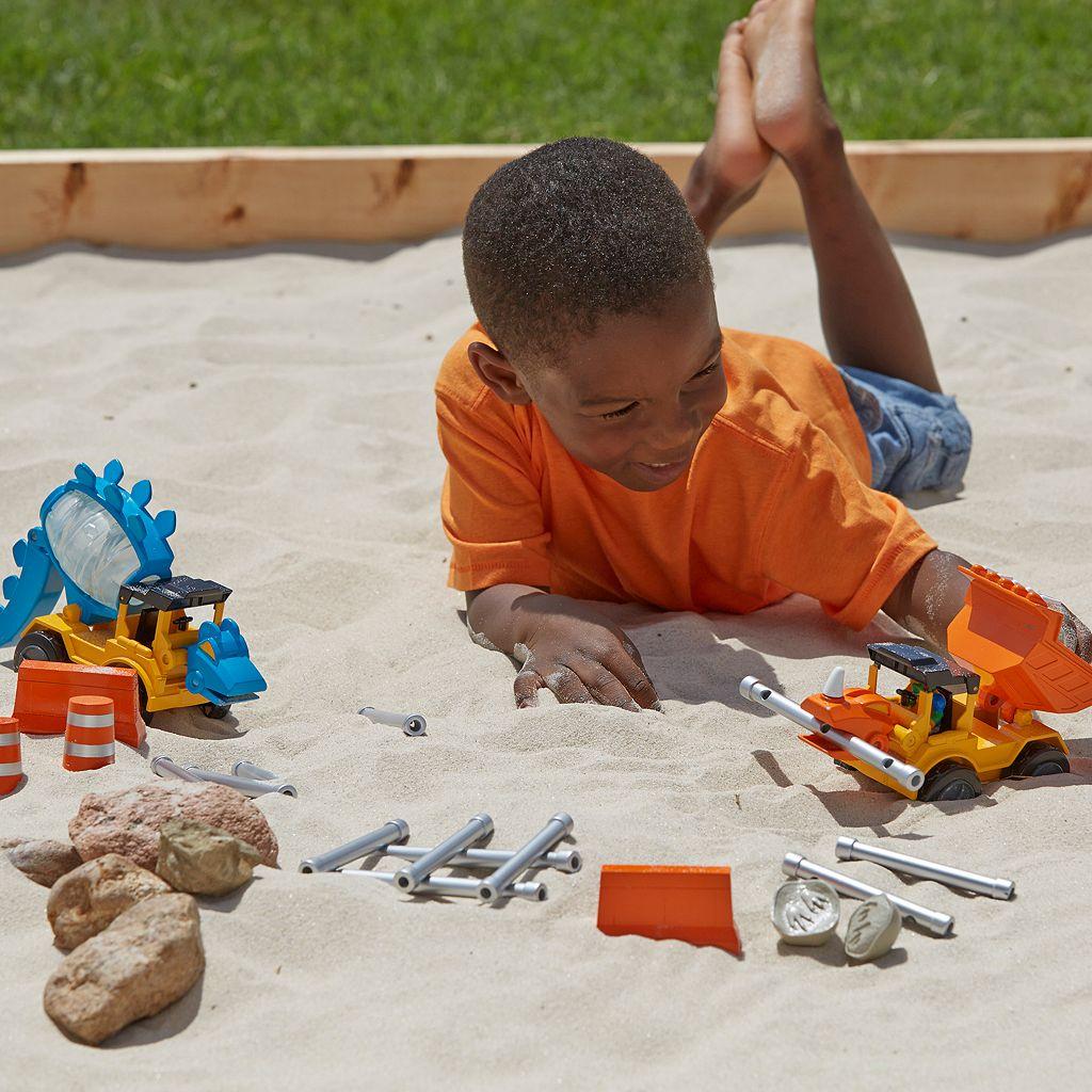 Educational Insights Dino Construction Company 20-Piece Build & Smash Set