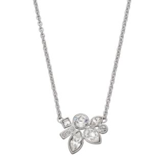 Simply Vera Vera Wang Cluster Necklace with Swarovski Crystals