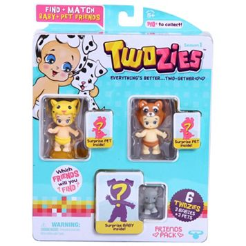 Twozies Season 1 Friends Pack