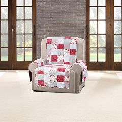 Sure Fit Heirloom Cottage Patchwork Recliner Slipcover