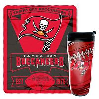 Tampa Bay Buccaneers Mug N' Snug Throw & Tumbler Set by Northwest