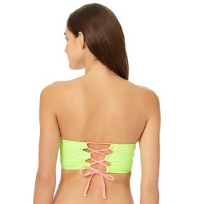 In Mocean Match Point Colorblock Bandeau
