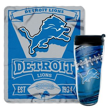 Detroit Lions Mug N' Snug Throw & Tumbler Set by Northwest