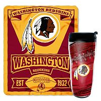 Washington Redskins Mug N' Snug Throw & Tumbler Set by Northwest